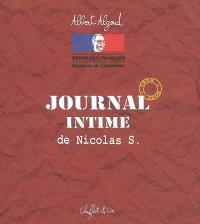 Journal intime de Nicolas S : 1998-2008