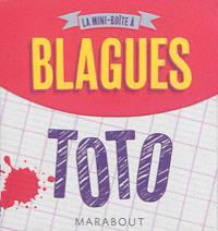 La mini-boîte à blagues : Toto : 120 histoires culte à raconter !