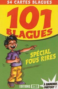 101 blagues spécial fous rires