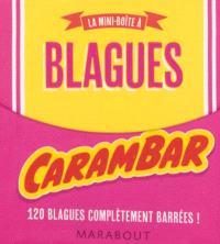 La mini-boîte à blagues Carambar : 120 blagues complètement barrées !
