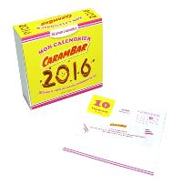 Mon calendrier Carambar 2016 : 365 blagues et recettes pour une année complètement barrée !