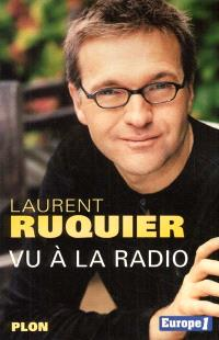 Vu à la radio