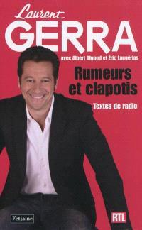 Rumeurs et clapotis : textes de radio