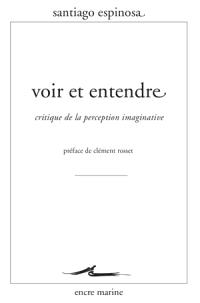 Voir et entendre : critique de la perception imaginative