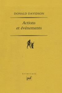 Actions et événements