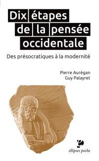 Dix étapes de la pensée occidentale : des présocratiques à la modernité