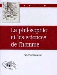 La philosophie et les sciences de l'homme