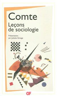 Leçons de sociologie : cours de philosophie positive, leçons 47 à 51