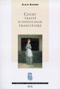 Court traité d'ontologie transitoire