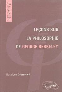 Leçons sur la philosophie de George Berkeley