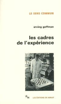 Les cadres de l'expérience