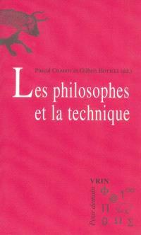 Les philosophes et la technique
