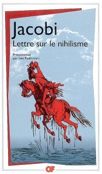 Lettre sur le nihilisme : et autres textes