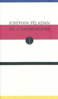 De l'androgyne : théorie plastique