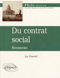 Du contrat social, Rousseau
