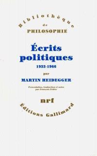 Ecrits politiques : 1933-1966