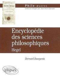 Encyclopédie des sciences philosophiques, Hegel