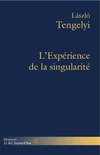 Essais philosophiques. Volume 2, L'expérience de la singularité