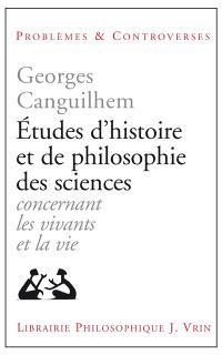 Etudes d'histoire et de philosophie des sciences