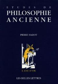 Etudes de philosophie ancienne