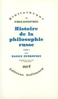 Histoire de la philosophie russe. Volume 2
