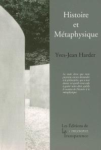 Histoire et métaphysique