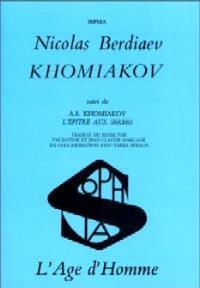 Khomiakov. L'Epître aux Serbes