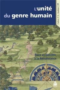 L'unité du genre humain : race et histoire à la Renaissance