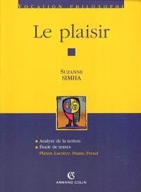 Le plaisir : analyse de la notion, étude de textes : Platon, Lucrèce, Hume, Freud