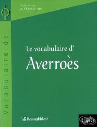 Le vocabulaire d'Averroès