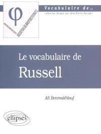 Le vocabulaire de Russell