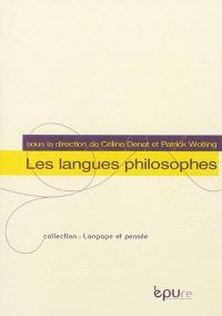 Les langues philosophiques