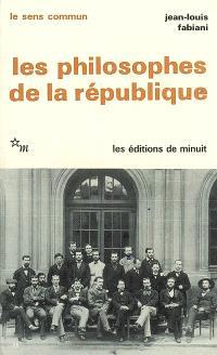 Les philosophes de la République