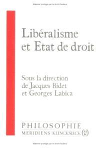 Libéralisme, Etat de droit