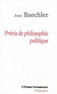 Précis de philosophie politique