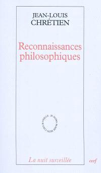 Reconnaissances philosophiques
