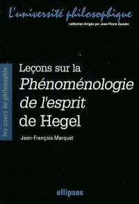 Cours sur la Phénoménologie de l'esprit de Hegel