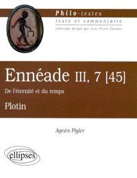 Ennéade III, 7 (45), De l'éternité et du temps, Plotin