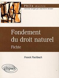 Fondements du droit naturel, Fichte