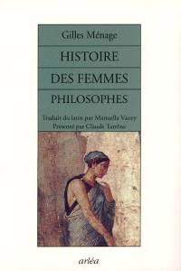 Histoire des femmes philosophes