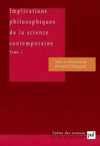 Implications philosophiques de la science contemporaine : rapport du groupe de travail de l'Académie des sciences morales et politiques. Volume 1, Le chaos, le temps, le principe anthropique