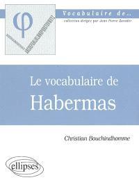 Le vocabulaire de Habermas