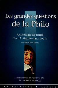 Les grandes questions de la philo