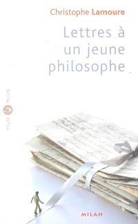 Lettres à un jeune philosophe