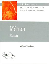 Ménon, Platon