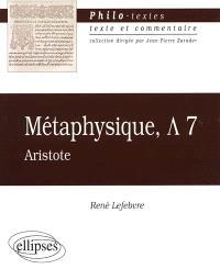 Métaphysique, Lambda, Aristote