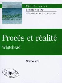 Procès et réalité, Whitehead