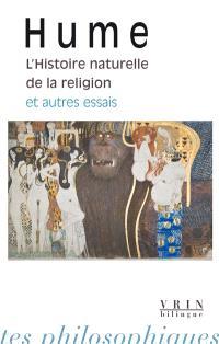 L'histoire naturelle de la religion : et autres essais