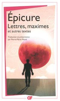 Lettres, maximes : et autres textes