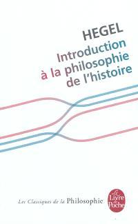 Introduction à la philosophie de l'histoire